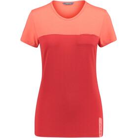Meru Perama Naiset Lyhythihainen paita , punainen